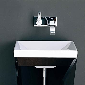 Carre Square Ceramic Bathroom Sink