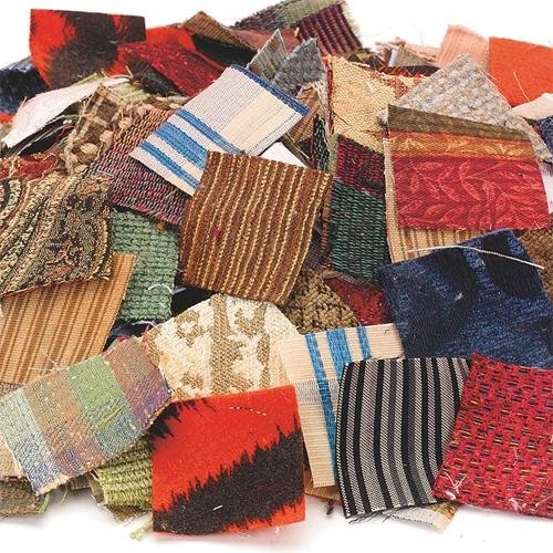 S&S Craft Supplies fabric mosaic squares pack of 400