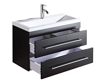 badm bel mars 800 slimline anthrazit seidenglanz reuniecollegenoetsele. Black Bedroom Furniture Sets. Home Design Ideas