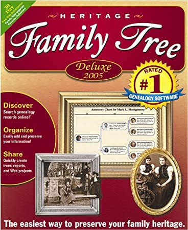 Heritage Family Tree Deluxe 4.0