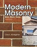 Modern Masonry : Brick, Block, Stone