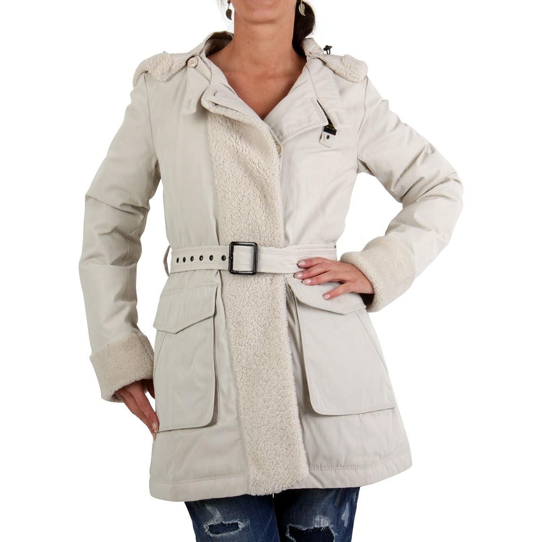 BLAUER USA Damen Winter Daunenparka Beige BLD0300 kaufen