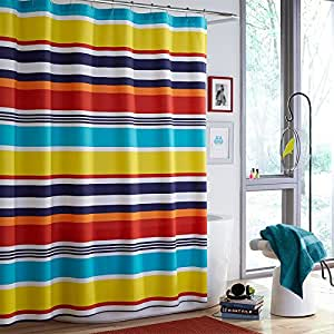 Shower Curtain Teen Vogue Dots And Dashes