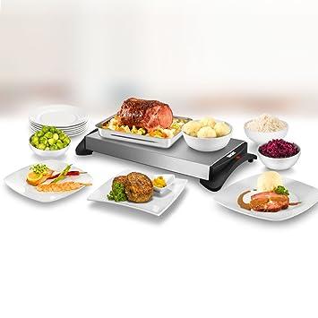 unold 58815 chauffe plat chauffe plat lectrique 1100w cuisine maison o151. Black Bedroom Furniture Sets. Home Design Ideas