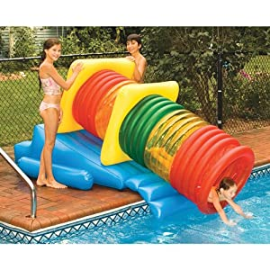 Amazon.com: Swimline Water Park Inflatable Pool Slide: Toys & Games