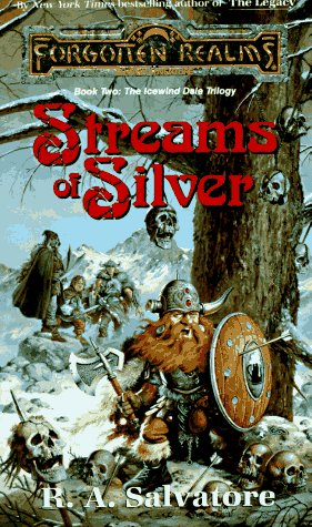 Image for Streams of Silver (Forgotten Realms: The Icewind Dale Trilogy, Book 2)