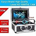 "Eyoyo Original 50m Professional Fish Finder Underwater Fishing Video Camera 7"" Color HD Monitor 1000TVL HD CAM Infrared Light"