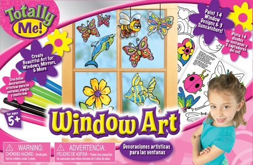 Totally Me Window Art Ages 5+ by Totally Me!