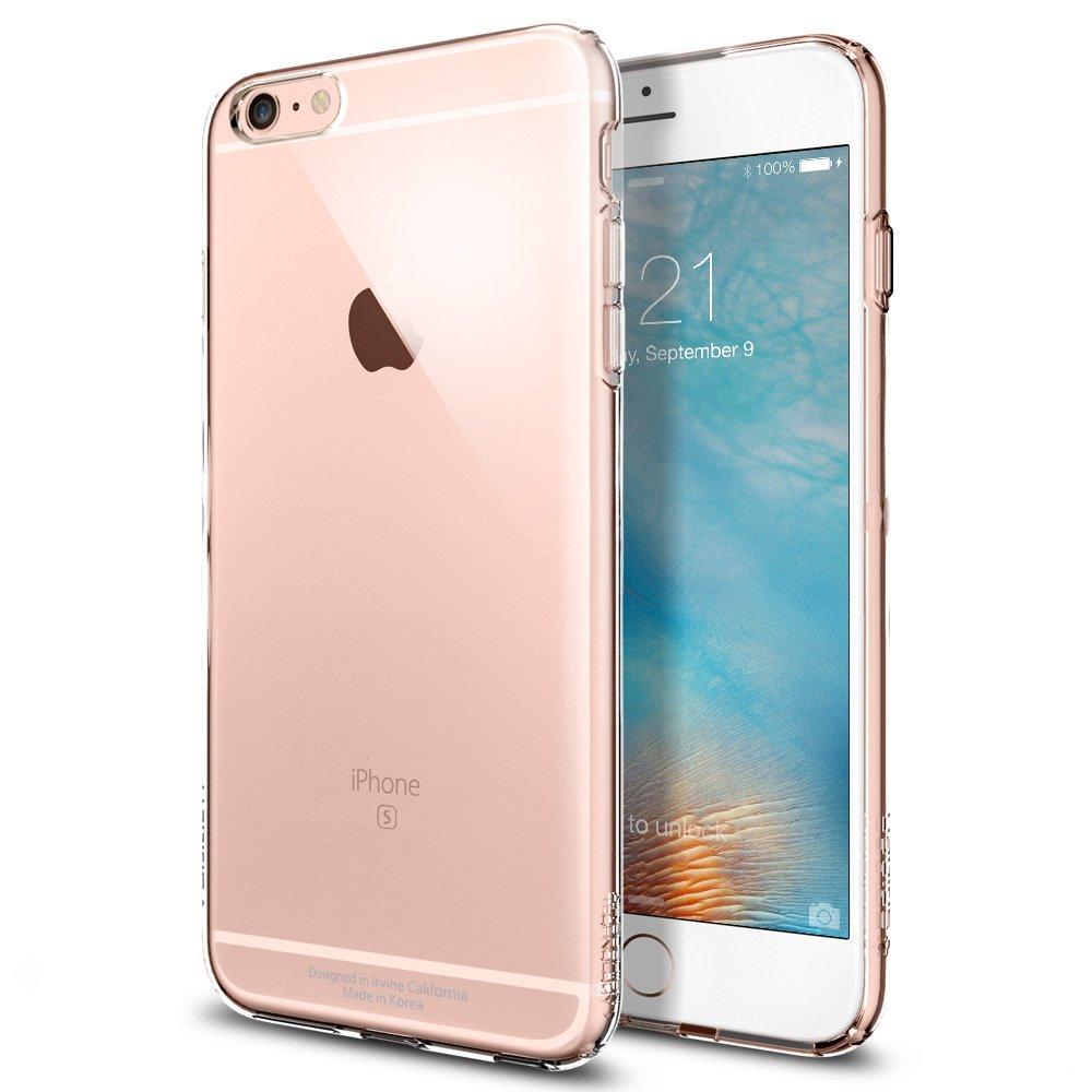 【Spigen】 iPhone6s Plus ケース / iPhone6 Plus ケース, カプセル [ ソフト TPU ] アイフォン6s プラス /  6 プラス 用 米軍MIL規格取得 耐衝撃カバー (クリスタル・クリア SGP11754)