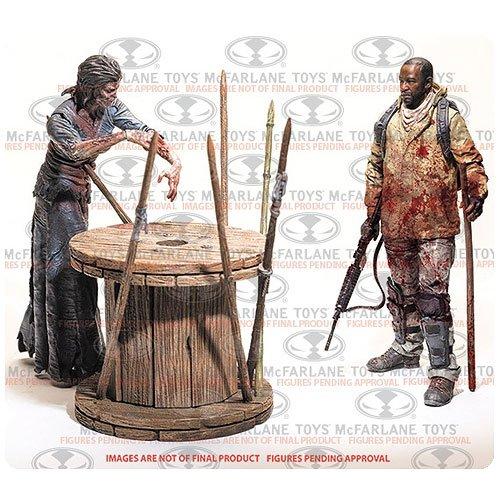 ウォーキング・デッド/ 5インチ アクションフィギュア TVシリーズ 8: モーガン・ジョーンズ&インパレッド・ウォーカー DLX ボックスセット