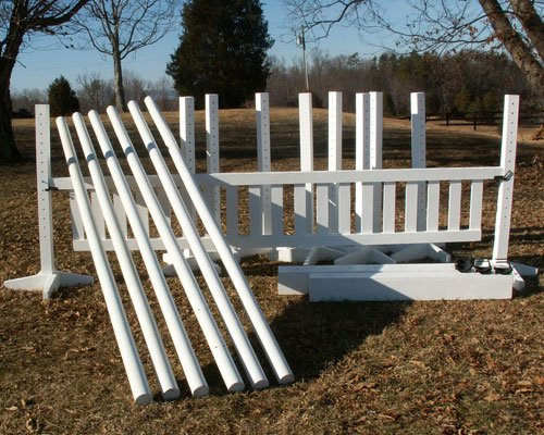 Econo Package Wood Horse Jumps 4ftx10ft