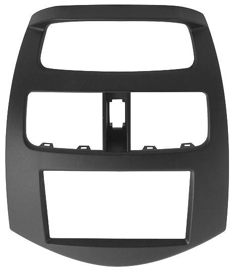 Phonocar 3/589 Cache autoradio 2 DIN pour Chevrolet Spark Noir