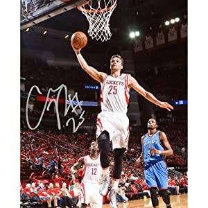 Chandler Parsons Houston Rockets Autographed 8