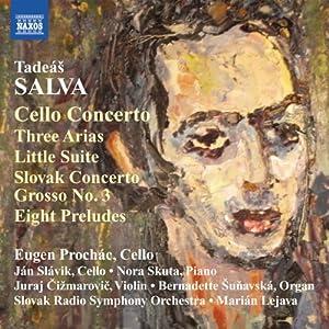Cello Concerto / Three Arias / Little Suite