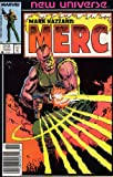 img - for MERC (MARK HAZZARD) #1-12,Annual 1 complete series (MARC HAZZARD:MERC (1986 MARVEL)) book / textbook / text book