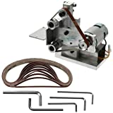 Ochine DIY Mini Belt sander, 4500RPM Electric Knife Sharpener Machine, Apex Edge Sharpener Blade Grinder Polishing Machine
