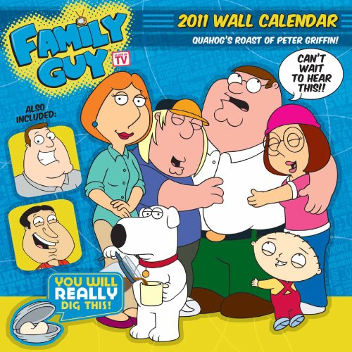 2011 Family Guy- Cast Calendar