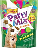 NESTLE PURINA PETCARE 050449 Friskies Crunchy Party Mix Picnic for Pets (Pack of 7), 6 oz.