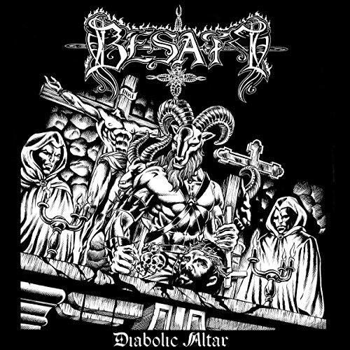 Besatt - Diabolic Altar CD