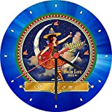 Miller High Life Beer Brew Welcome Wall Clock