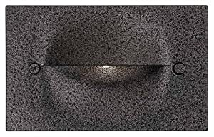 DVI Lighting DVP10707HB Indoor/Outdoor Steplight with No Shades, Hammered Black Finish
