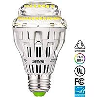 Sansi A19 15W 5000K 2000-Lumens Ceramic LED Dimmable Light Bulb