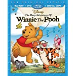[US] The Many Adventures of Winnie the Pooh (1977) [Blu-ray + DVD + Digital Copy]