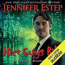 Nice Guys Bite Audiobook by Jennifer Estep Narrated by David Marantz