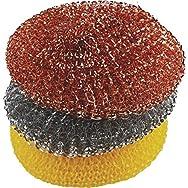 F H P-LP 135842 O-Cedar Multi-Pack Scrubber-3PK ASTD SCRUBBERS