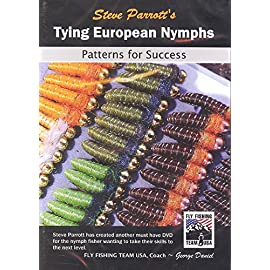 Tying European Nymphs Patterns for Success by Steve Parrott (3 Hour 40 Minutes Tutorial Fly Tying DVD)