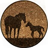 GrafixMat Coaster, Western Sunset, Made in the USA