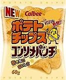 (お徳用ボックス) カルビー ポテトチップス コンソメパンチ 60g*12個