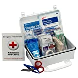 2-PACK 10 Person First Aid Kit, Weatherproof Plastic Case (Tamaño: 2-PACK)