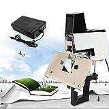 106 Electric Auto Stapler Flat Saddle Binder Machine Book Binding Machine Saddle Stapler Heavy Duty Office Binder Binding Machine Flat and Book Binding Machine