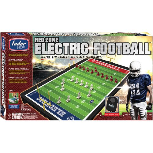Miniature Football Action Red Zone Electric Football Game Remote, Variable Speed
