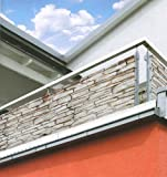"""Balkon Sichtschutz """"Stone"""""""