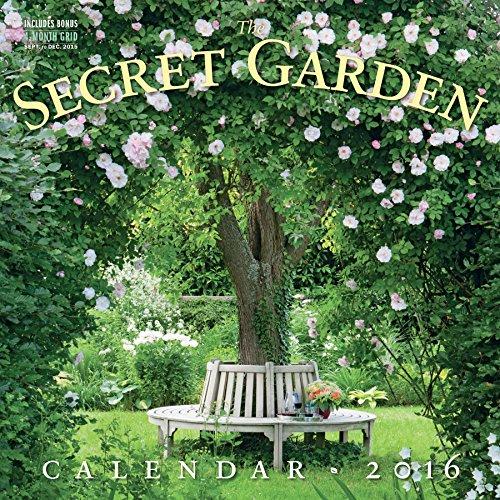 The Secret Garden Wall Calendar (2016 Calendar)