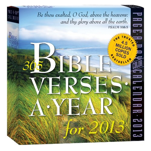 365 Bible Verses a Year 2013 Page-A-Day Calendar