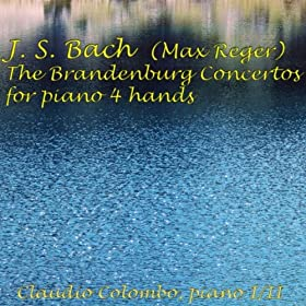 Brandenburg Concerto No. 3 in G Major, BWV 1048, for Piano Four Hands : II. Allegro