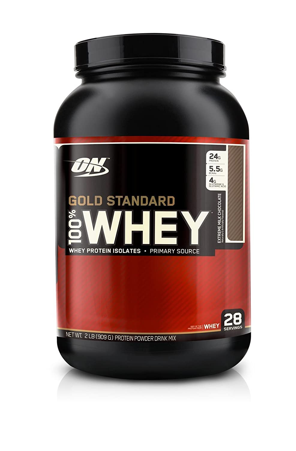 ON Whey Gold Standard - 2 lb Extreme Milk Chocolate