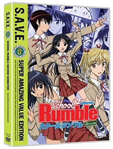 スクールランブル:シーズン2 コンプリート・シリーズ 廉価版 2ndエディション 北米版 / School Rumble 2 [DVD][Import]