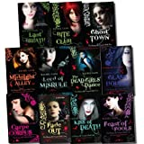 Rachel Caine The Morganville Vampires Collection 11 Books Set (Last Breath, Bite Club, Ghost Town, Glass Houses, The Dead Girls Dance, Midnight Alley, Feast of Fools, Lord of Misrule, Carpe Corpus, Fade Out, Kiss of Death)
