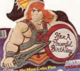 Wilton He-Man Muscle Man ~ Masters of the Universe ~ Warrior Princess ~ Cake Pan (2105-3184, 1983) Retired Collectible