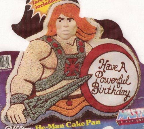 Wilton He Man Cake Pan Instructions