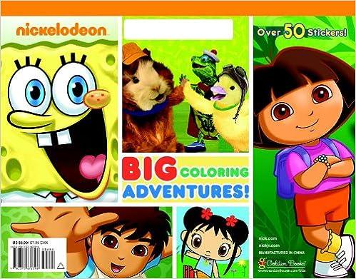 Nickelodeon Coloring Book Nickelodeon Big Coloring