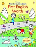 First Colouring Book First English Words...
