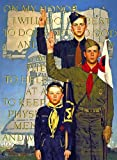Norman Rockwell Boy Scouts On My Honour 1953 Art Print - 7 in x 10 in - Unmatted, Unframed