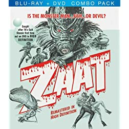 Zaat Blu-Ray + DVD Combo Pack
