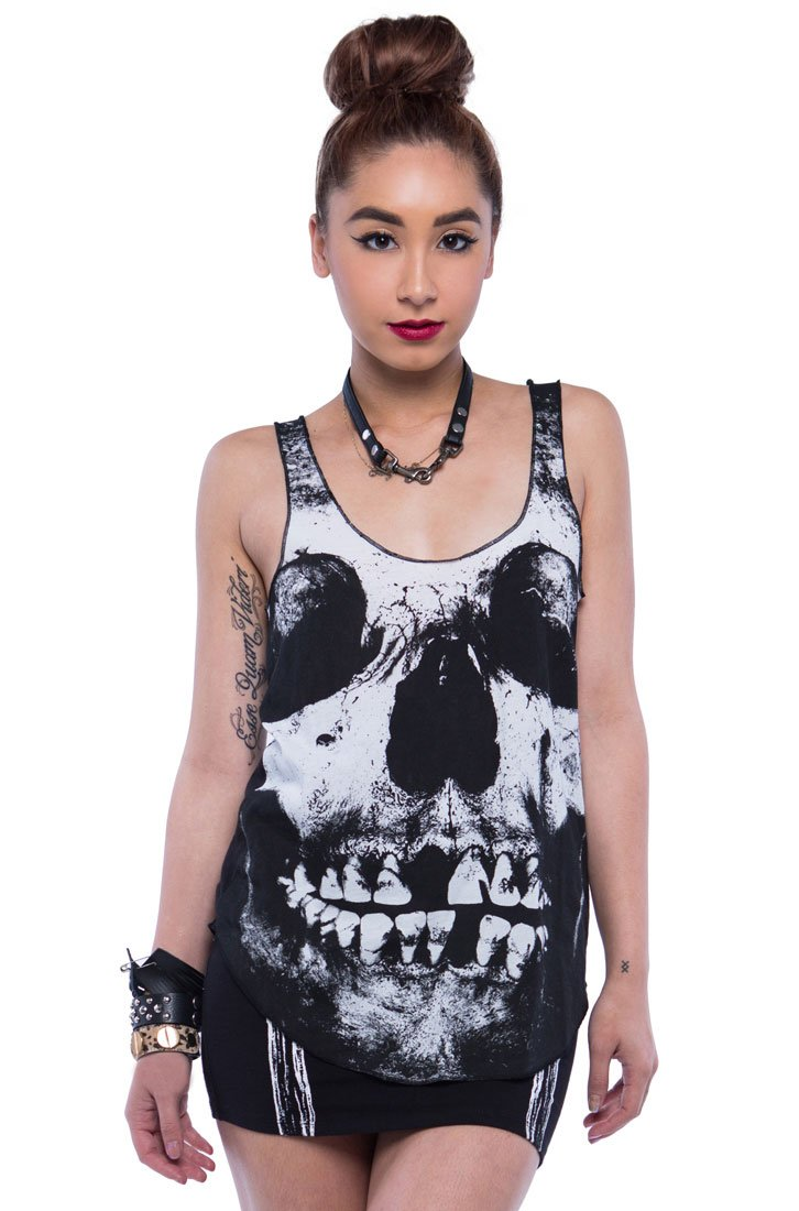 Womens Loose Tooth Tank Top
