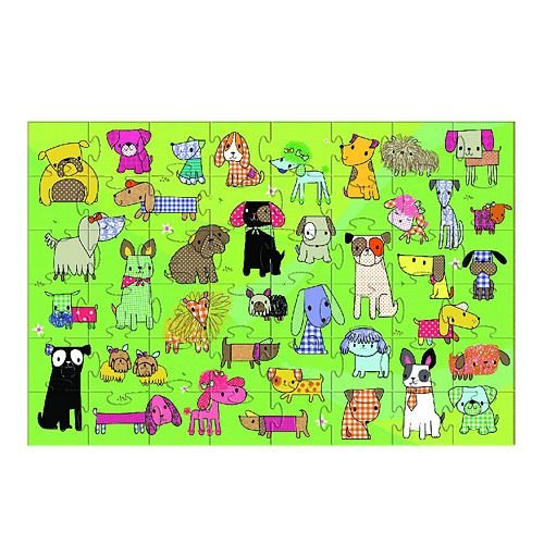 Cheap Fun Innovative Kids Green Start Puppy Palooza Floor Puzzle (B0055TK9NO)